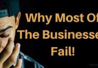 Business Failure: Why Most Of The Businesses Fail - Indiavent